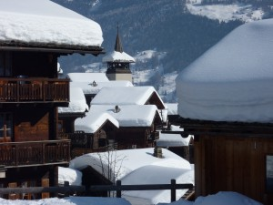 Picture-perfect Grimentz in the heart of Valais