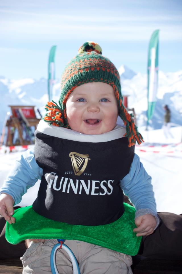 Happy St Patrick's Day from all the team at FamilySkiNews.com