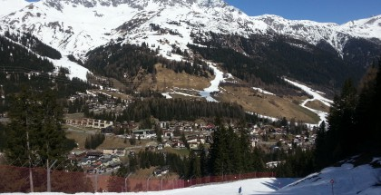 The big thaw has set in in St Anton im arlberg