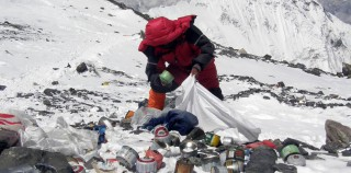 Cleaning up Everest