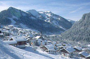 Chatel - part of the Portes du Soleil ski area