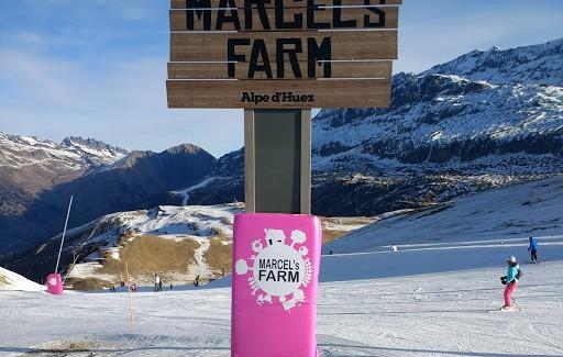 New ski park for children in Alpe d'Huez