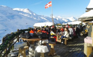 Chez Pepe Nicolas - a favourite slopeside lunch spot
