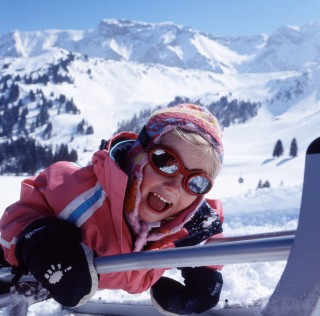Snow fun and games in Adelboden