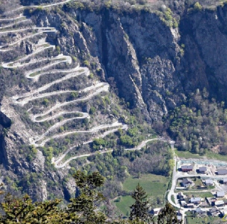 The 21 hairpins of Alpe d'Huez