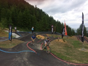 Summer adrenaline on La Plagne's new Pump Track
