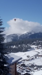 Dizzy heights .. hot-air ballooning in Les Saisies