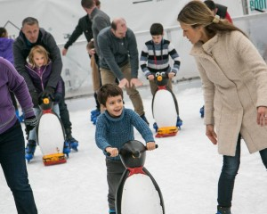 Have a go at ice skating in the Mountain Village