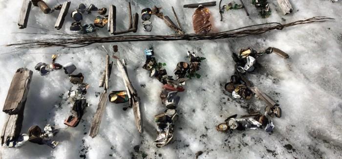 Ski rubbish