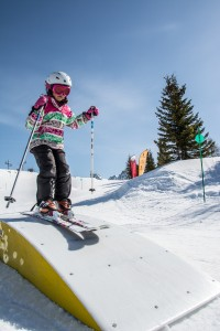 New fun track dedicated to children in La Rosière