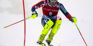 Dave Ryding crashes on brink of World Cup win