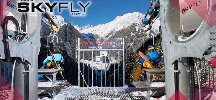 Flying high in Ischgl