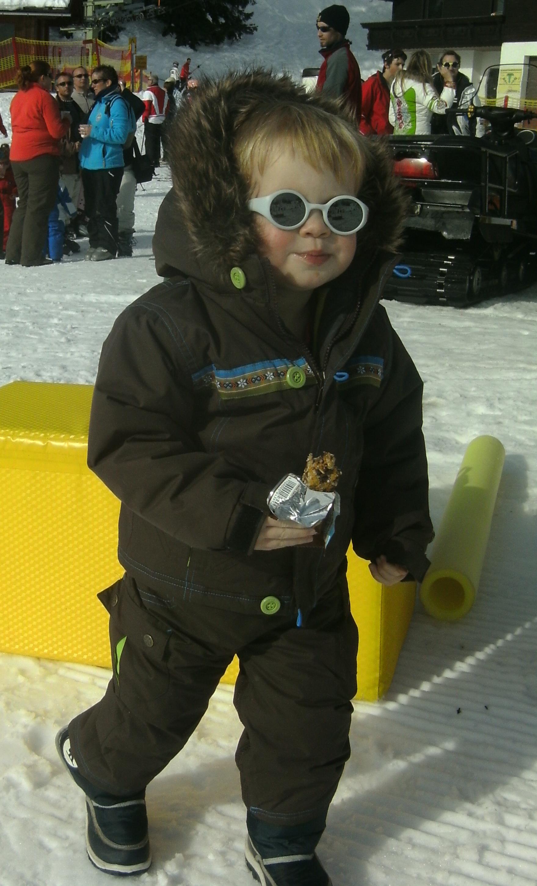 Teens apres ski