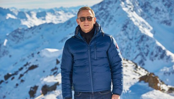 James Bond filming in Austrian ski resorts