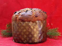 Italian sweet bread - the Panettone