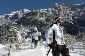 Snowshoeing in the Fanes-Senes-Braies National Park