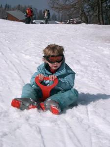 Snow fun in La Plagne