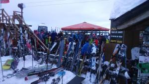 Apres-ski on the piste - Arc 1950