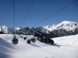 One of our favourites - the Lac two-man chairlift