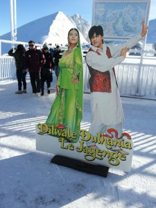 Bollywood on Mount Titlis