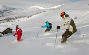 Book into some ski lessons in resort in St Martin de Belleville