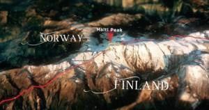 birthday mountain, Norway Finland border