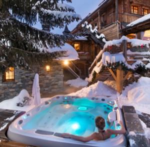 The spa at La Bouite