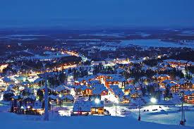 The Finnish resort of Levi