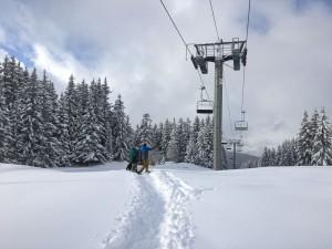 Plenty of snow this weekend in Meribel in the 3 Vallees
