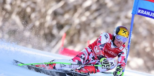 Hirscher claims fourth Giant Slalom title in Slovenia