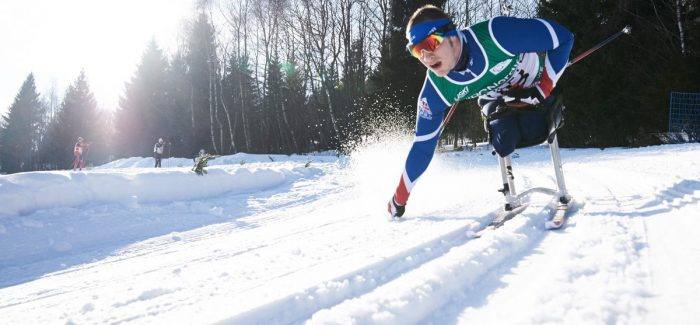 The first Brit in para-Nordic skiing for twenty years
