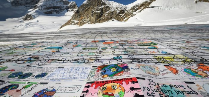 Kids' record-breaking postcard sends climate change message