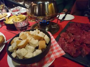 Traditional fondue - Ischgl's best is served at Kitzloch