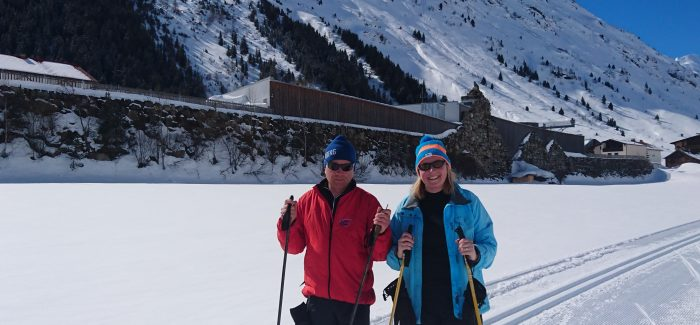 Cross-country skiing in Galtür