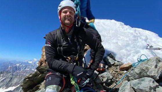 Double amputee summits the Matterhorn