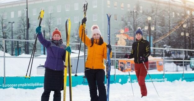 Finland's City Skis