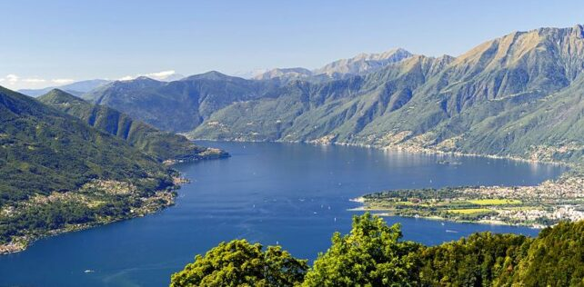 Cable car crash in Italian lake district